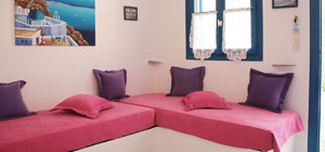 <b>Κτίριο Νο 2 </b><br> Two Twin Suites - 4 ατόμων<br>