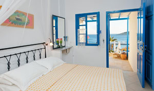 <b>Building No 1</b><br> <b> C - </b>Asterias pool front Suite  for 2 persons